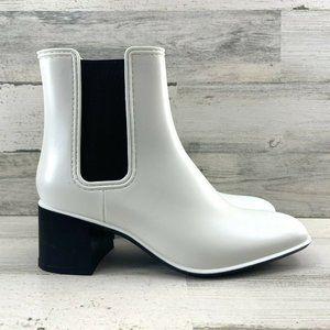 Jeffrey Campbell Rainy Day Chelsea Rain Boots Pull